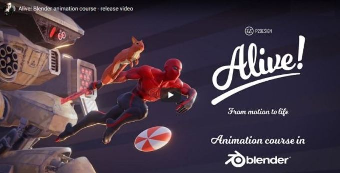 Gumroad – Alive! Animation course in Blender