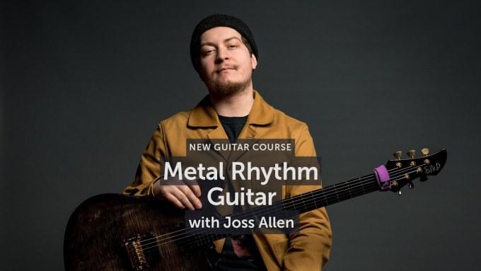 Musicisum Metal Rhythm Guitar with Joss Allen [TUTORiAL]