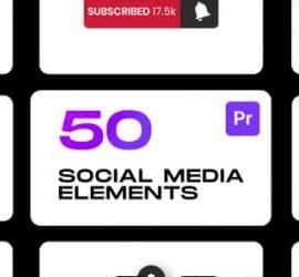 Premiere Pro Videohive Social Elements For Premiere Pro 33391333 Free Download