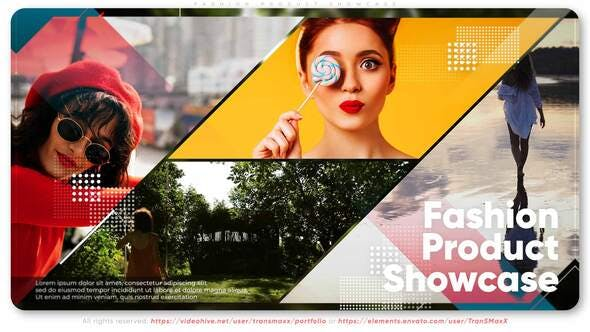 Videohive Fashion Product Showcase 33601843 Free Download