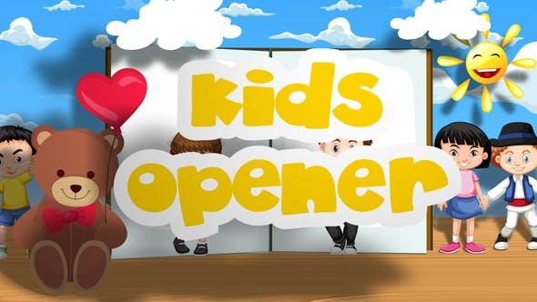 Videohive Kids Opener 23758748 Free Download