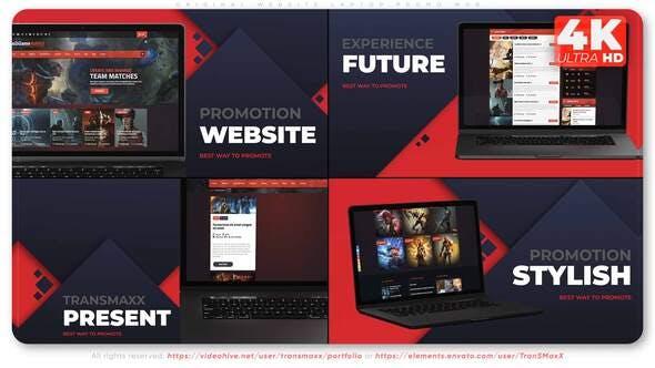 Videohive Original Website Laptop Promo W08 33560277 Free Download