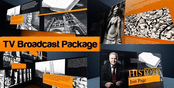 Videohive TV Broadcast Package