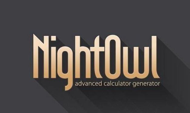 CM - NightOwl - Calculator Generator