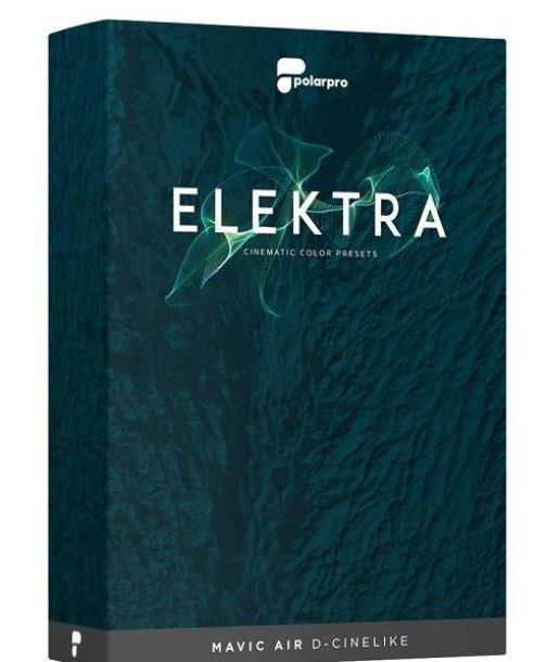 Elektra Cinematic Color Presets Mavic Air Edition