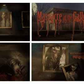 Videohive Massacre At The Gallery Opener 3267627 Free Download