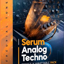 Mercurial Tones Xfer Serum Analog Techno Presets [WAV, MiDi, Synth Presets] (Premium)