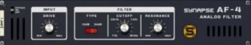 Reason RE Synapse Audio AF-4 Analog Filter v1.1.0 [WiN]