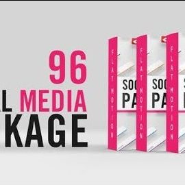 Videohive Social Media Lower Thirds Package 32560460 Free Download