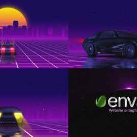 Videohive Logo Retro Galaxy Reveal 33765912 Free Download