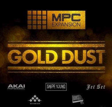 AKAI MPC Software Expansion Gold Dust v1.0.4 [MPC] [WiN]