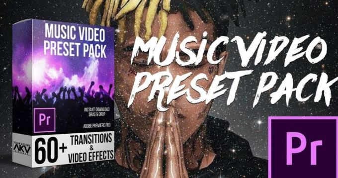 AKV Studios - Music Video Preset Pack for Premiere