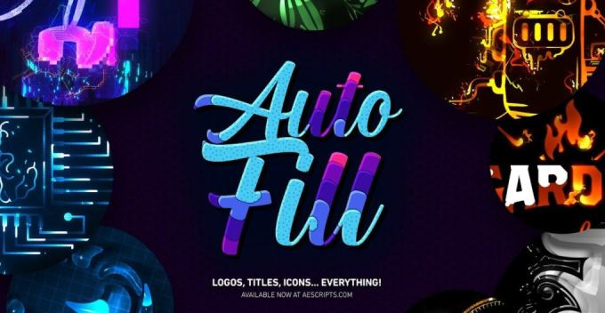 AutoFill 1.1.1 for After Effects for Mac