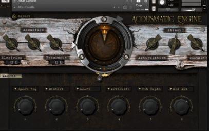 Cymatic Form Acousmatic Engine v1.0 [KONTAKT]