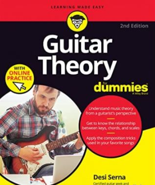 Guitar Theory For Dummies with Online Practice 2nd Edition