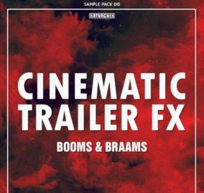Katunchik Sounds Cinematic Trailer FX Booms and Braams [WAV]