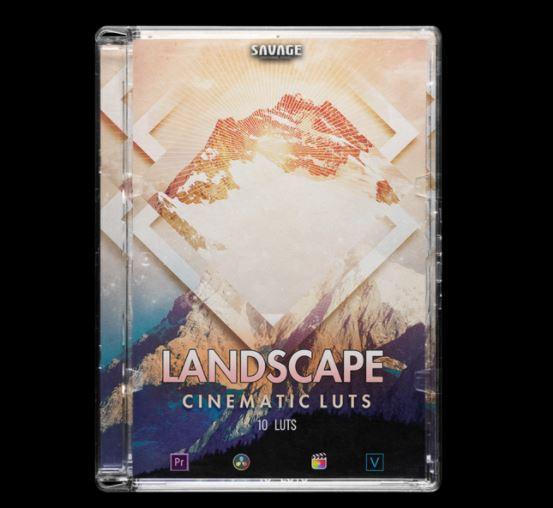 SAVAGELUTS – LANDSCAPE CINEMATIC LUTS PACK