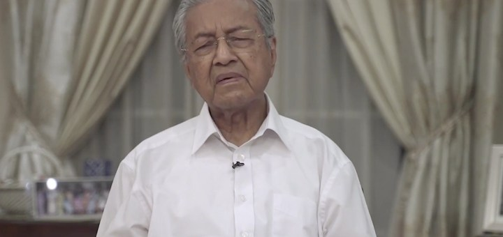 China Unhappy Mahathir Came To Power In 2018