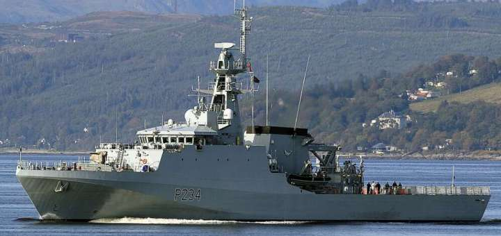 Royal Navy To Sail Through Disputed Waters Claimed By China