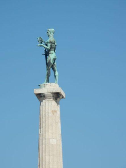 Statue du Vainqueur à Belgrade