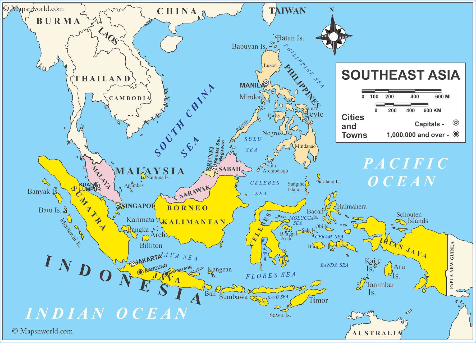 World Geography Indonesia