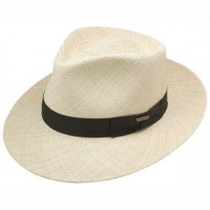 c4d9a92660f Stetson Retro – Panama Straw Fedora Hat