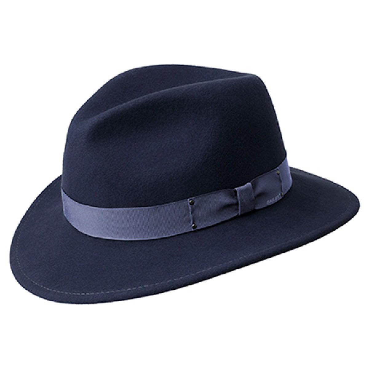 9a7108ffb52376 Curtis Wool Felt Fedora Hat BY BAILEY – World Hats