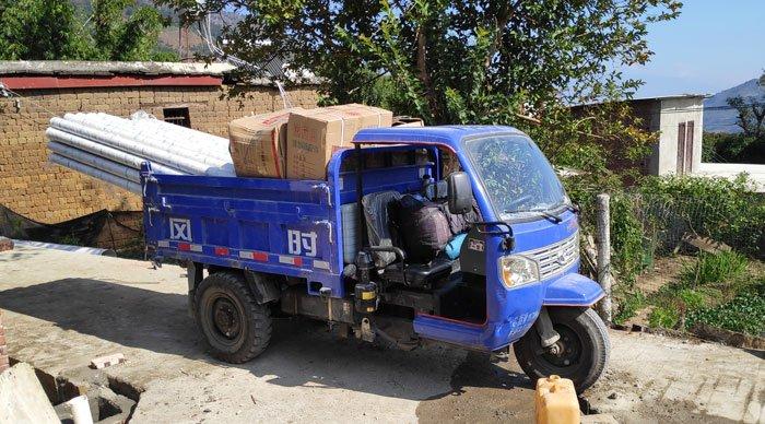 three wheeler truck china