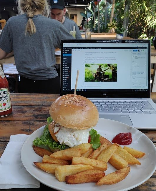 work while travelling