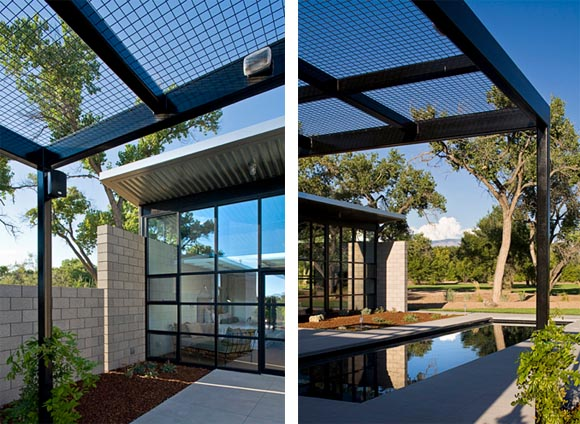 Flyway View House by Jon Anderson Architect