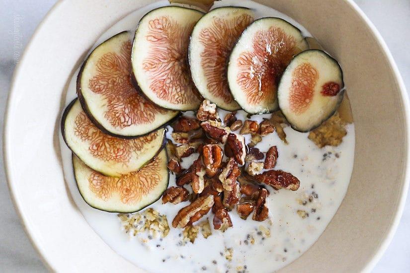 overnight oats fig