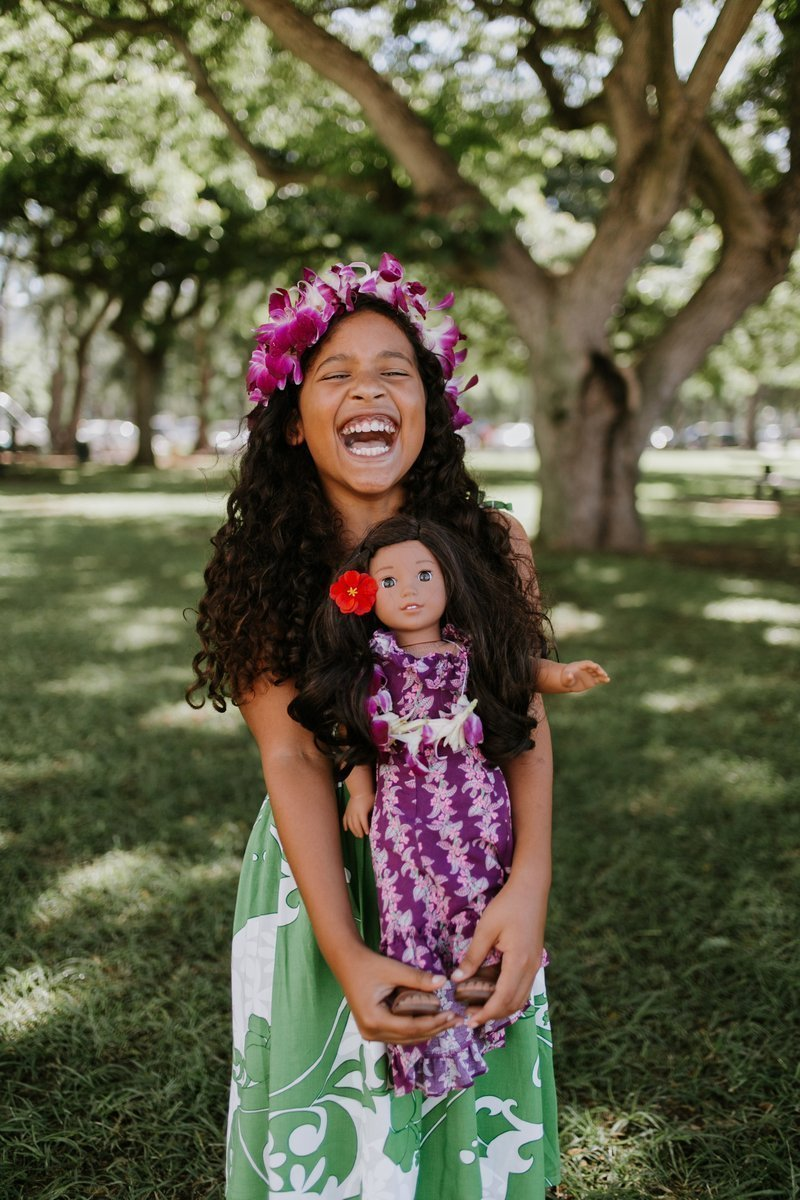 Hire A Travel Photographer, Nanea, American Girl, Oahu, Hawaii, Flytographer