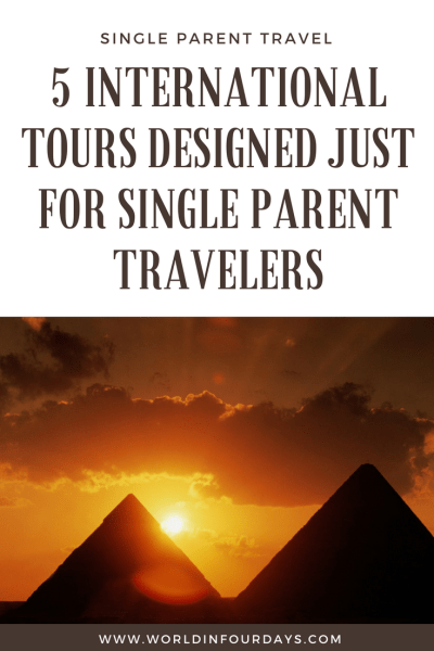 Single parent travel can be expensive and when it comes to tours, we often pay a premium. Intrepid Travel understands the struggle and recently launched a set of tours designed with Single Parent Travel in mind. With locations like Egypt, Thailand, Northern India and more, your family will love these adventures.