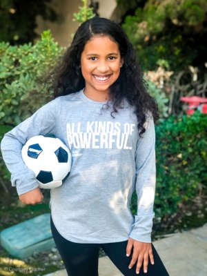 I'm all for empowering girls so this year we teamed up with Athleta Girl to celebrate International Day of the Girl on October 11th and share our tips on ways you can empower your daughters, sisters, nieces, and cousins.