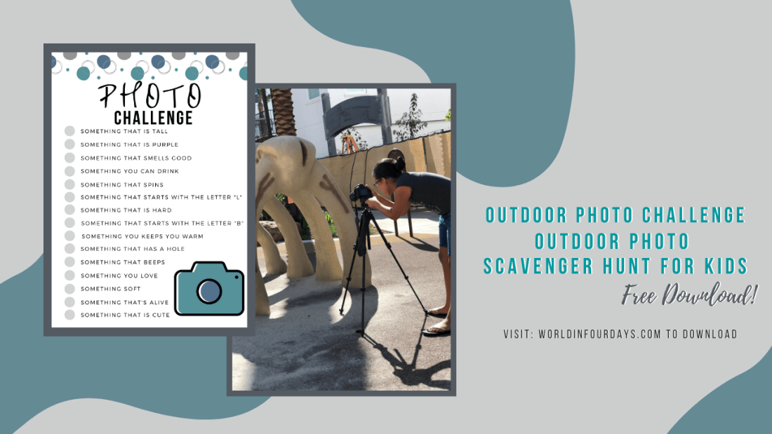 Free Outdoor Photo Scavenger Hunt Printable