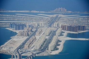 ... et l'immense hôtel Atlantis (1500 chambres)