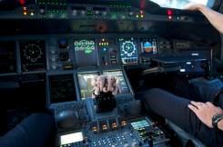 En A380 !