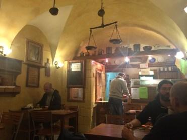 Pierogis dans un Bar à Lait