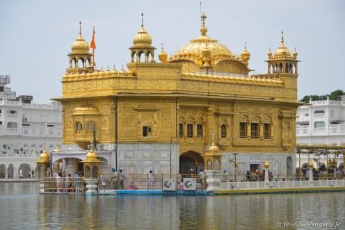 Amritsar et son temple d'or