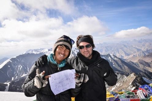 Top 1 : atteindre le sommet du Stok Kangri