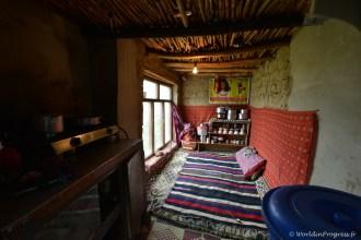 Habitat du Zanskar - Cuisine