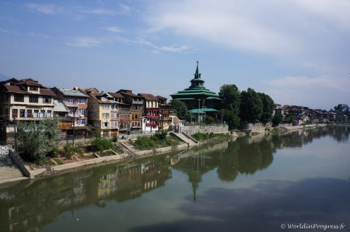 Srinagar et ses canaux