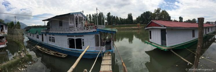 Notre houseboat bon marché !