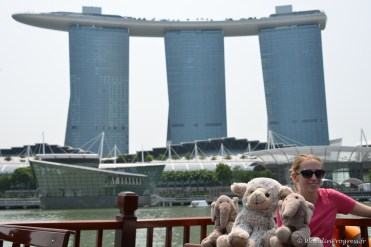 N'agneaux et N'éléphants avec Marina Bay Sands