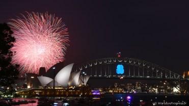 Sydney Firework NYE 2015