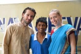 Rencontre avec Raphi en Inde