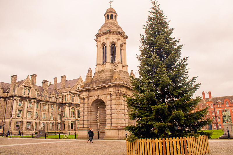 Trinity College Campus, 2 days in Dublin