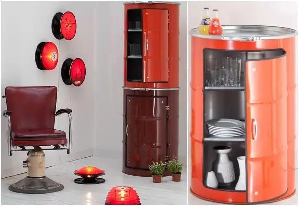 5 Awesome Ideas To Repurpose Metal Barrels World Inside