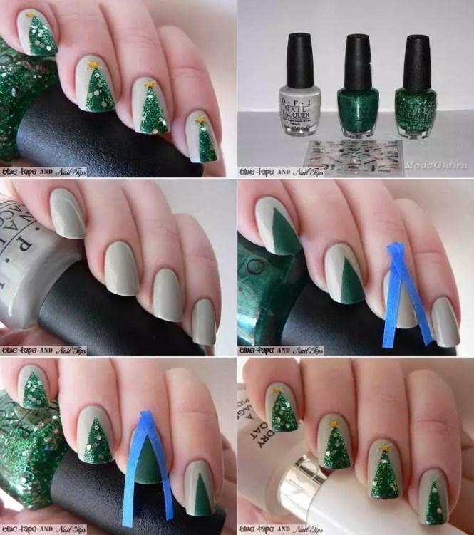 Diy No Tool Drybrush Summer Manicure Lipstiq Nail Art