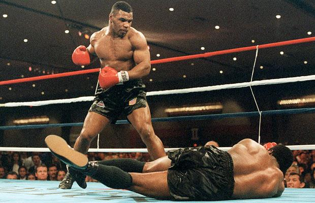Mike Tyson Floors Trevor Berbick In Las Vegas In 1986